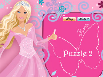 Барби принцесса пазл